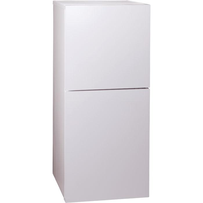 ツインバード クラス最大級のたっぷり冷凍室&効率的なしっかり冷蔵室。2ドア冷凍冷蔵庫 HR-E915PW