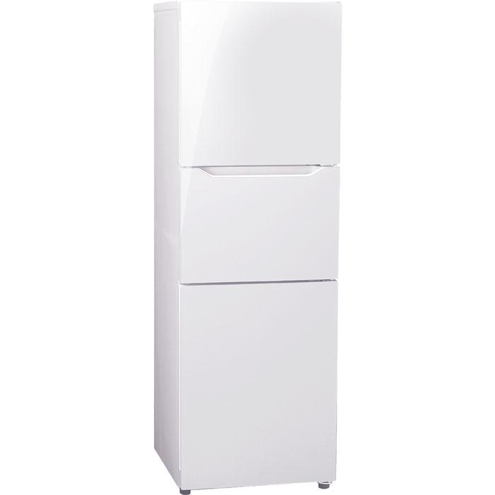 ツインバード たっぷり冷凍室+くらしにピタッと切替室。3ドア冷凍冷蔵庫 HR-E919PW