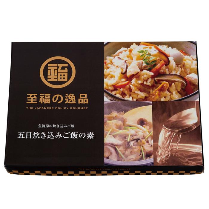 その他 【96個セット】至福の逸品 五目炊き込みご飯の素 2560010