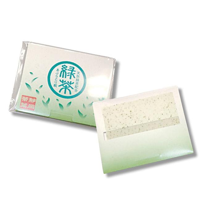 その他 【500個セット】緑茶あぶらとり紙30枚入 2214338