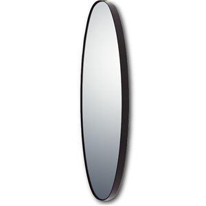その他 スリムラインミラー オーバルロング グロスブラック ds-2198570
