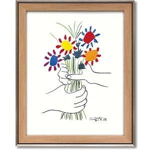 その他 パブロ・ピカソ アートフレーム 「花束を持つ手」 ds-2198671