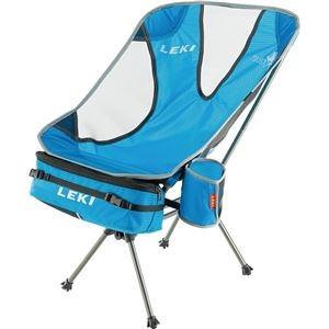その他 折りたたみ椅子 【ブルー】 69×44×49cm 耐荷重1030g 『LEKI レキ チェア・シリーズ サブ ワン ライトウエイト』 〔屋外〕 ds-2202429