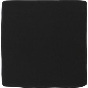 その他 低反発スクエアクッション ブラック 【10個セット】 ds-980919