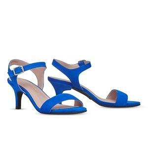 その他 ヒール付け替え可能サンダル/婦人靴 【Bluette/Stiletto 7cm ブルー サイズ:38(25cm相当)】 Mime et moi ミミ・エ・モイ【代引不可】 ds-2213898
