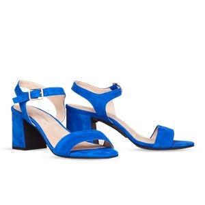 その他 ヒール付け替え可能サンダル/婦人靴 【Bluette/Super Block 7cm ブルー サイズ:40(27cm相当)】 Mime et moi ミミ・エ・モイ【代引不可】 ds-2213906