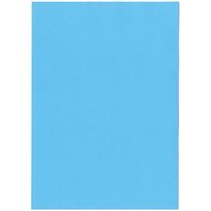 その他 (まとめ)北越コーポレーション 紀州の色上質A3Y目 薄口 ブルー 1冊(500枚)【×3セット】 ds-2214834