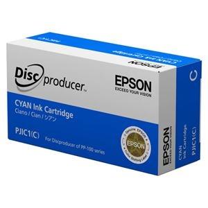 その他 (まとめ)エプソン インクカートリッジ シアンPJIC1C 1個【×3セット】 ds-2215066
