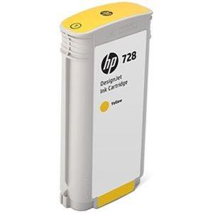 その他 (まとめ)HP HP728 インクカートリッジイエロー 130ml F9J65A 1個【×3セット】 ds-2215199
