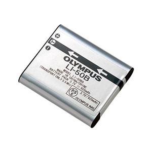 その他 (まとめ)オリンパス リチウムイオン充電池LI-50B 1個【×3セット】 ds-2215428
