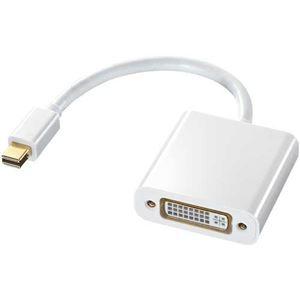 その他 (まとめ)サンワサプライ MiniDisplayPort-DVI変換アダプタ ホワイト AD-MDPDVA01 1個【×3セット】 ds-2215695