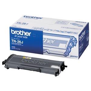 その他 (まとめ)ブラザー BROTHER トナーカートリッジ TN-26J 1個【×3セット】 ds-2215815