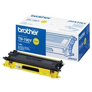 その他 (まとめ)ブラザー BROTHER トナーカートリッジ イエロー TN-190Y 1個【×3セット】 ds-2215817