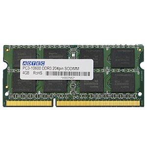 その他 (まとめ)アドテック DDR3 1066MHzPC3-8500 204Pin SO-DIMM 2GB×2枚組 ADS8500N-2GW 1箱【×3セット】 ds-2215939