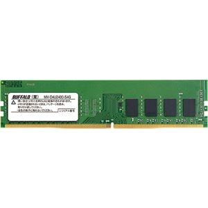 その他 (まとめ)バッファロー PC4-2400対応288ピン DDR4 SDRAM DIMM 4GB MV-D4U2400-S4G 1枚【×3セット】 ds-2215954