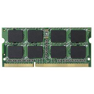 その他 (まとめ)エレコム 204Pin DDR3L1600MHz PC3L-12800 SDRAM S.O.DIMM 4GB EV1600L-N4G/RO 1枚【×3セット】 ds-2215974