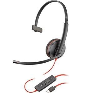その他 (まとめ)プラントロニクス 有線UCヘッドセットBlackwire C3210 USB-C 209748-101 1個【×3セット】 ds-2216397