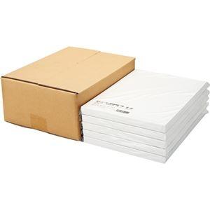 その他 (まとめ)TANOSEEカラーレーザー・IJ用名刺用紙 10面 白 1セット(500シート:100シート×5冊)【×3セット】 ds-2216647