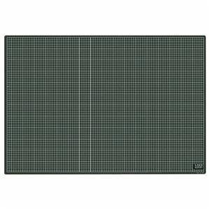 その他 (まとめ)ライオン事務器 カッティングマット再生PVC製 両面使用 900×620×3mm 黒/黒 CM-9011 1枚【×3セット】 ds-2216772
