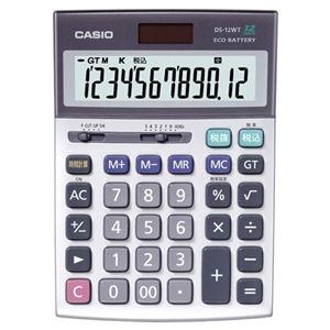 その他 (まとめ)カシオ CASIO 本格実務電卓 12桁 DS-12WT-N 1台【×3セット】 ds-2219164