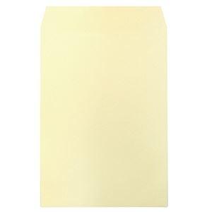 その他 (まとめ)ハート 透けないカラー封筒 テープ付角2 パステルクリーム XEP473 1セット(500枚:100枚×5パック)【×3セット】 ds-2219216