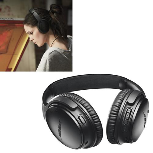 BOSE Bose QuietComfort headphones 35 Bose wireless QuietComfort headphones II ブラック QuietComfort35II-BLK, 【高い素材】:e6e94ac6 --- anaphylaxisireland.ie