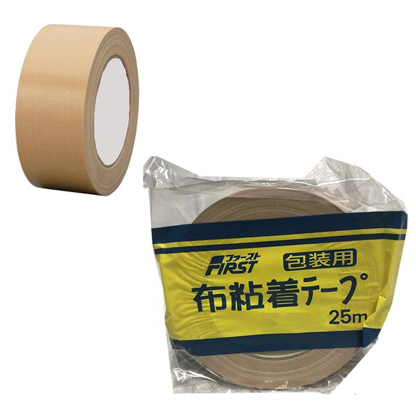 水上金属 日本製布ガムテープ ファースト布テープ 100mm幅×25m巻 [18巻入] 0355-00105