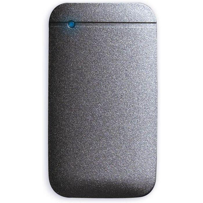 エレコム SSD ポータブル 外付け 250GB Type-Cケーブル付属 高速データ転送 読み込み最大430MB/s USB3.2対応 Surface MacBook 1年保証 ブラック ESD-EF0250GBK【納期目安:08/07入荷予定】