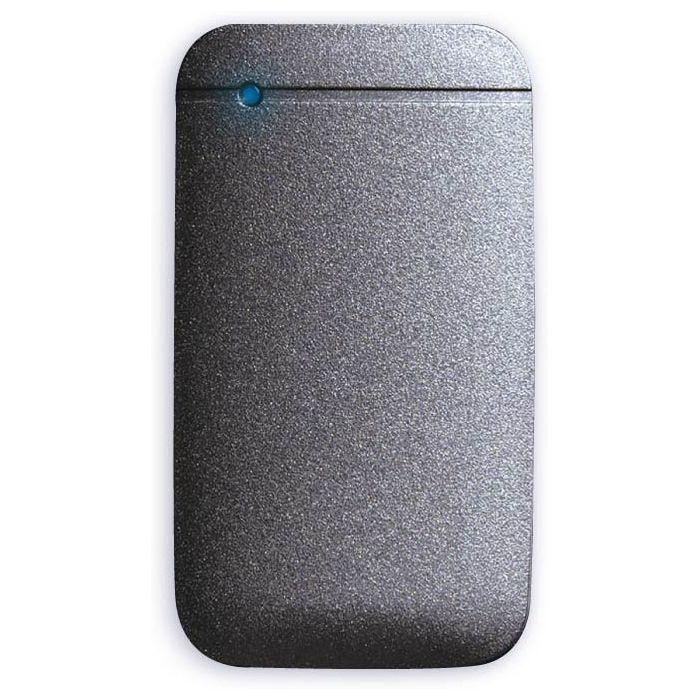 エレコム SSD ポータブル 外付け 500GB Type-Cケーブル付属 高速データ転送 読み込み最大430MB/s USB3.2対応 Surface MacBook 1年保証 ブラック ESD-EF0500GBK