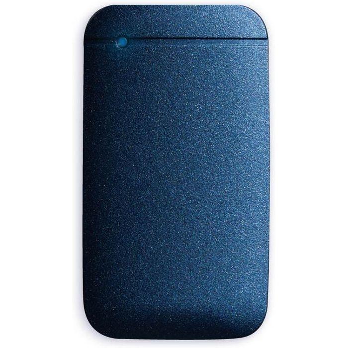 エレコム SSD ポータブル 外付け 1TB Type-Cケーブル付属 高速データ転送 読み込み最大430MB/s USB3.2対応 Surface MacBook 1年保証 ネイビー ESD-EF1000GNV