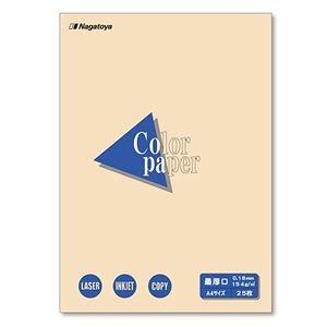 その他 (まとめ) 長門屋商店 Color Paper A4最厚口 アイボリー ナ-3515 1冊(25枚) 【×30セット】 ds-2238086