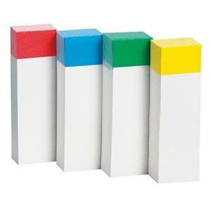 その他 (まとめ) TANOSEE ふせん 50×15mm色帯4色 1セット(100冊:20冊×5パック) 【×10セット】 ds-2233524