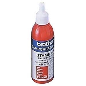 その他 (まとめ) ブラザー BROTHER スタンプ用補充インク 赤 20cc PRINKR 1本 【×10セット】 ds-2233889