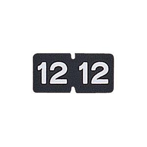 その他 (まとめ) リヒトラブ カラー月ラベルMロールタイプ 「12」 HK781R-12 1箱(300片) 【×10セット】 ds-2234349