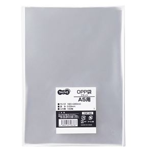 その他 (まとめ) TANOSEE OPP袋 フラット A5用 160×220mm 1セット(500枚:100枚×5パック) 【×10セット】 ds-2234667