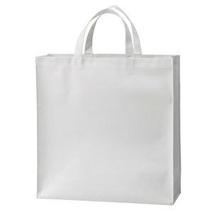その他 (まとめ) TANOSEE 不織布バッグ 小ヨコ320×タテ330×マチ幅110mm ホワイト 1パック(10枚) 【×10セット】 ds-2234739