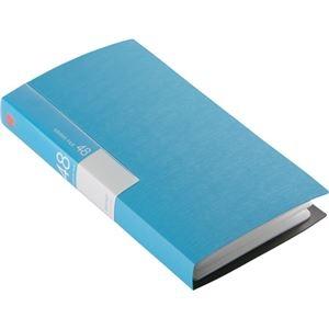 その他 (まとめ) バッファローCD&DVDファイルケース ブックタイプ 48枚収納 ブルー BSCD01F48BL 1個 【×30セット】 ds-2235320