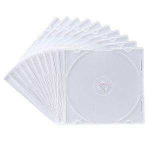 その他 (まとめ) サンワサプライ DVD・CDケースマットホワイト FCD-PU10MW 1パック(10枚) 【×30セット】 ds-2235328