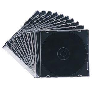 その他 (まとめ) サンワサプライ DVD・CDケースマットブラック FCD-PU10MBK 1パック(10枚) 【×30セット】 ds-2235329