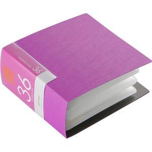 その他 (まとめ) バッファローCD&DVDファイルケース ブックタイプ 36枚収納 ピンク BSCD01F36PK 1個 【×30セット】 ds-2235335