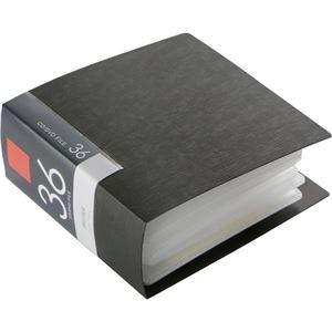 その他 (まとめ) バッファローCD&DVDファイルケース ブックタイプ 36枚収納 ブラック BSCD01F36BK 1個 【×30セット】 ds-2235337
