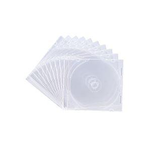 その他 (まとめ) サンワサプライ DVD・CDケースクリア FCD-PU10C 1パック(10枚) 【×30セット】 ds-2235346