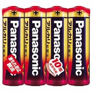 その他 (まとめ) パナソニック アルカリ乾電池 単3形LR6XJ/4SE 1パック(4本) 【×30セット】 ds-2235583
