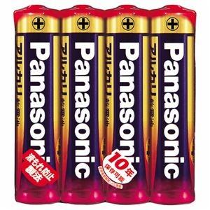 その他 (まとめ) パナソニック アルカリ乾電池 単4形LR03XJ/4SE 1パック(4本) 【×30セット】 ds-2235588
