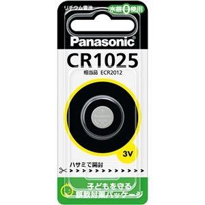 その他 (まとめ) パナソニック コイン形リチウム電池CR-1025 1個 【×30セット】 ds-2235601