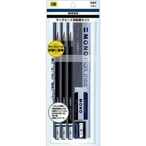 その他 (まとめ) トンボ鉛筆 モノマークシート用鉛筆セット HB MA-PLMKN 1パック 【×30セット】 ds-2236116