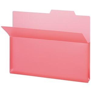 その他 (まとめ) TANOSEE PP製持ち出しフォルダーA4 ピンク 1パック(5冊) 【×30セット】 ds-2236500