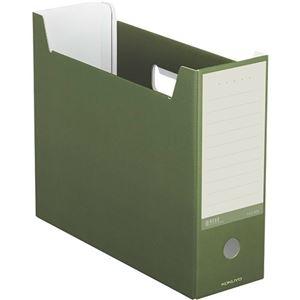 その他 (まとめ) コクヨ ファイルボックス(NEOS)A4ヨコ 背幅102mm オリーブグリーン A4-NELF-DG 1冊 【×30セット】 ds-2236624