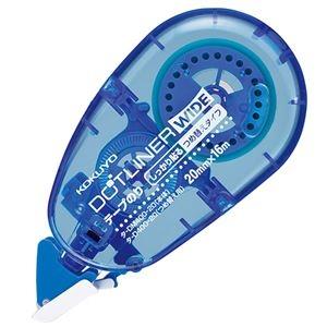 その他 (まとめ) コクヨ テープのり ドットライナーワイドしっかり貼るタイプ つめ替え用 タ-D400-20 1個 【×30セット】 ds-2236921