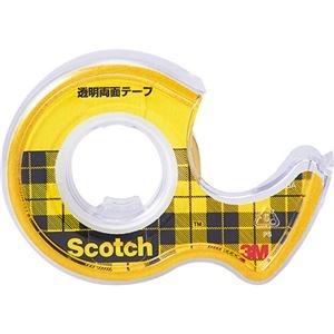 その他 (まとめ) 3M スコッチ 透明両面テープライナーなし 小巻 18mm×4m W-18 1巻 【×30セット】 ds-2236992